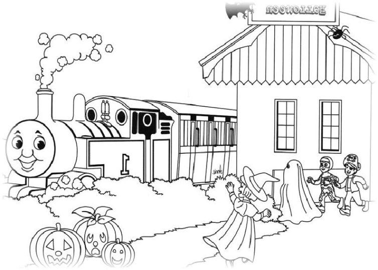 ausmalbilder für kinder thomas die kleine lokomotive 22