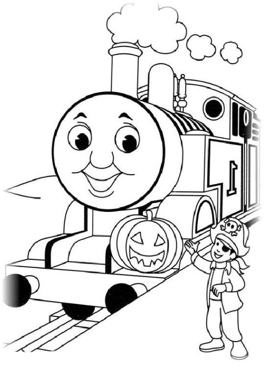 Ausmalbilder Für Kinder Thomas Die Kleine Lokomotive 23