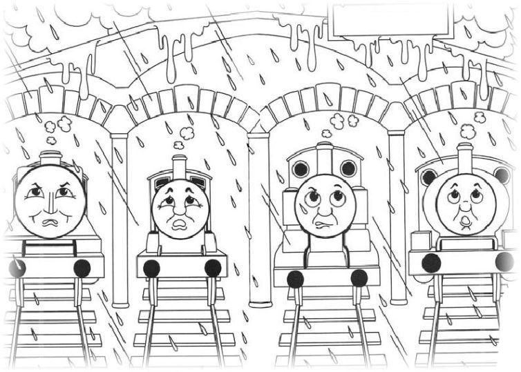 ausmalbilder für kinder thomas die kleine lokomotive 6
