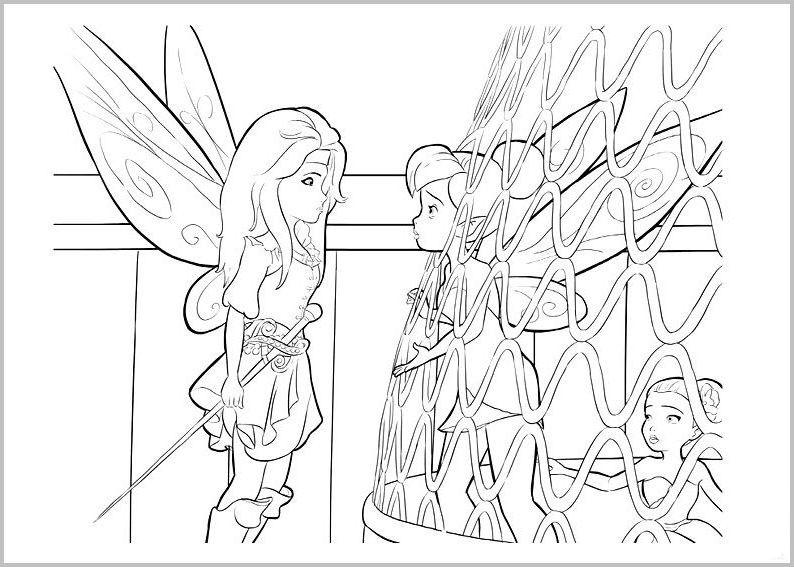 Ausmalbilder Für Kinder Tinkerbell Und Die Piratenfee 6