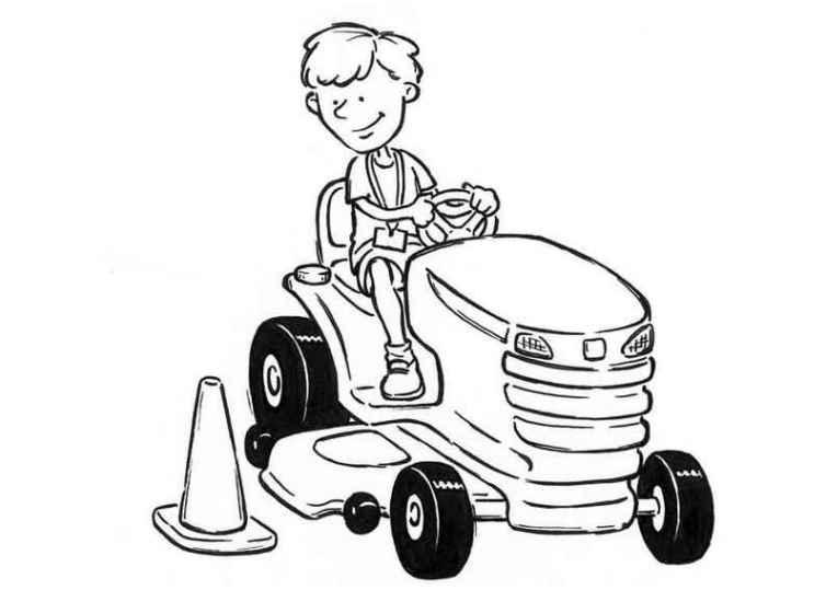 ausmalbilder für kinder traktor 16