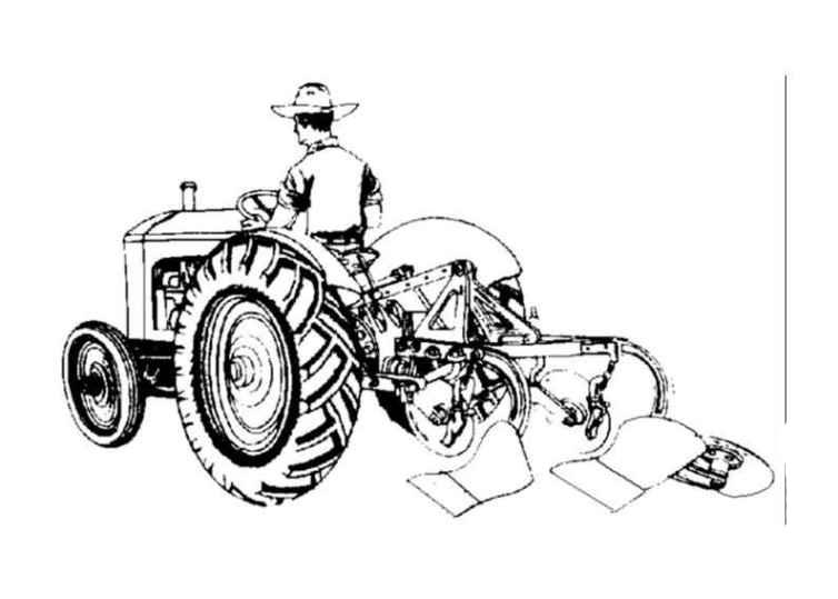 ausmalbilder für kinder traktor 5