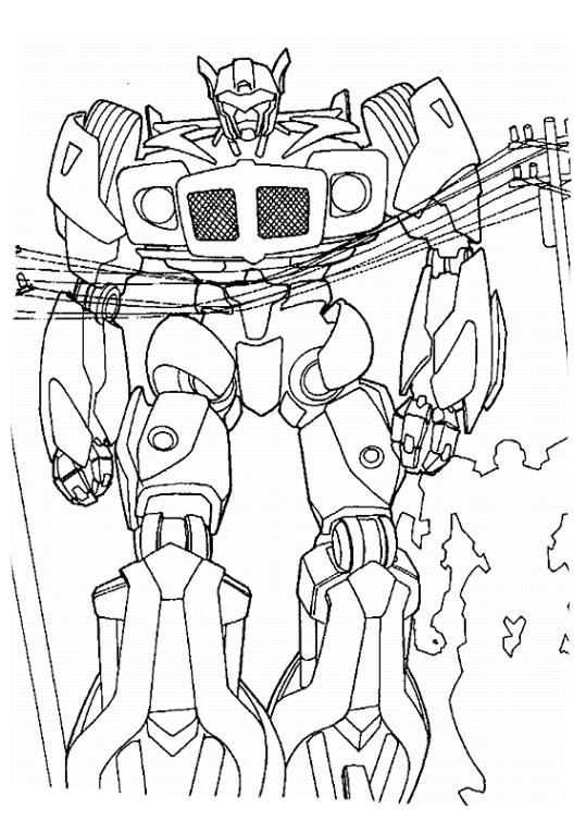 ausmalbilder für kinder transformers 12