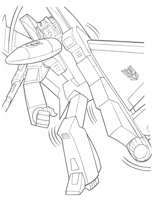 Ausmalbilder Für Kinder Transformers 5