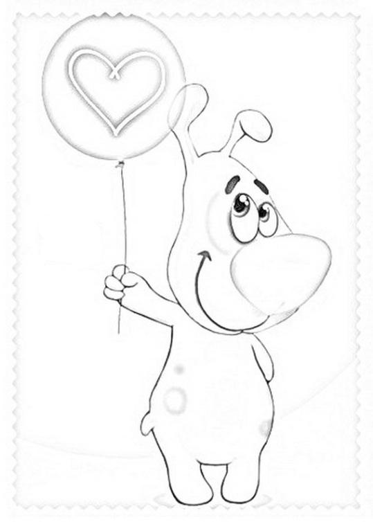 ausmalbilder für kinder valentinstag 12