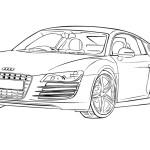 Audi Ausmalbilder Malvorlagen Kostenlos Ausdrucken