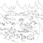 Berg Gebirge 5