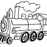 Dampflokomotive 7