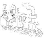 Dampflokomotive 8