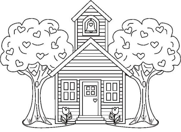 Ausmalbilder Für Kinder Haus 13