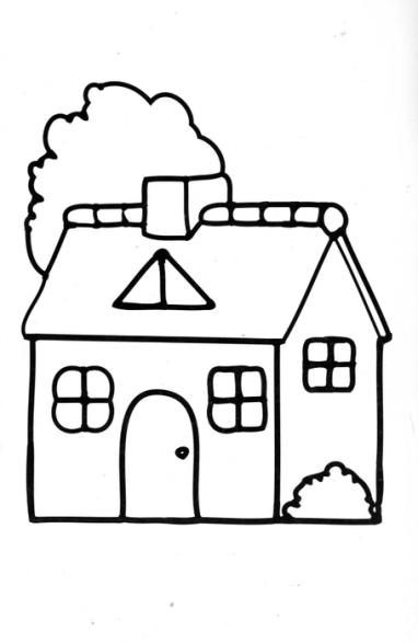 Ausmalbilder Für Kinder Haus 9