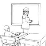 Lehrerin 2