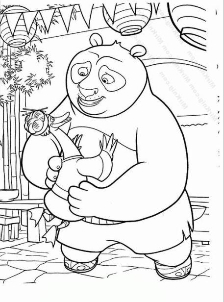 ausmalbilder für kinder panda 7
