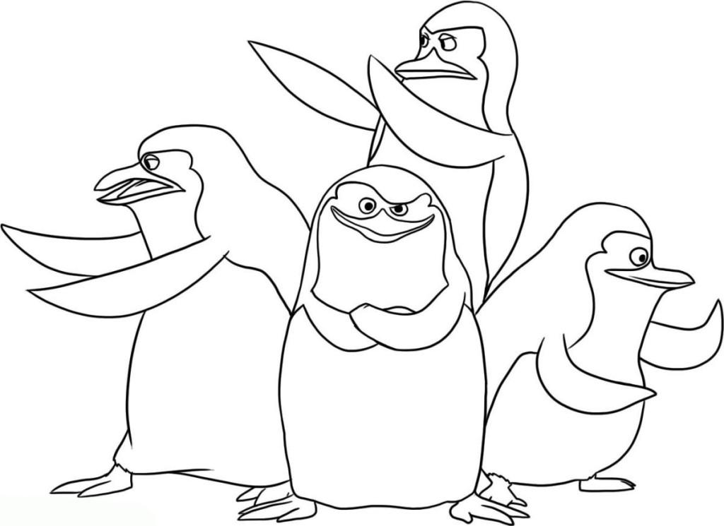 ausmalbilder für kinder pinguin 16
