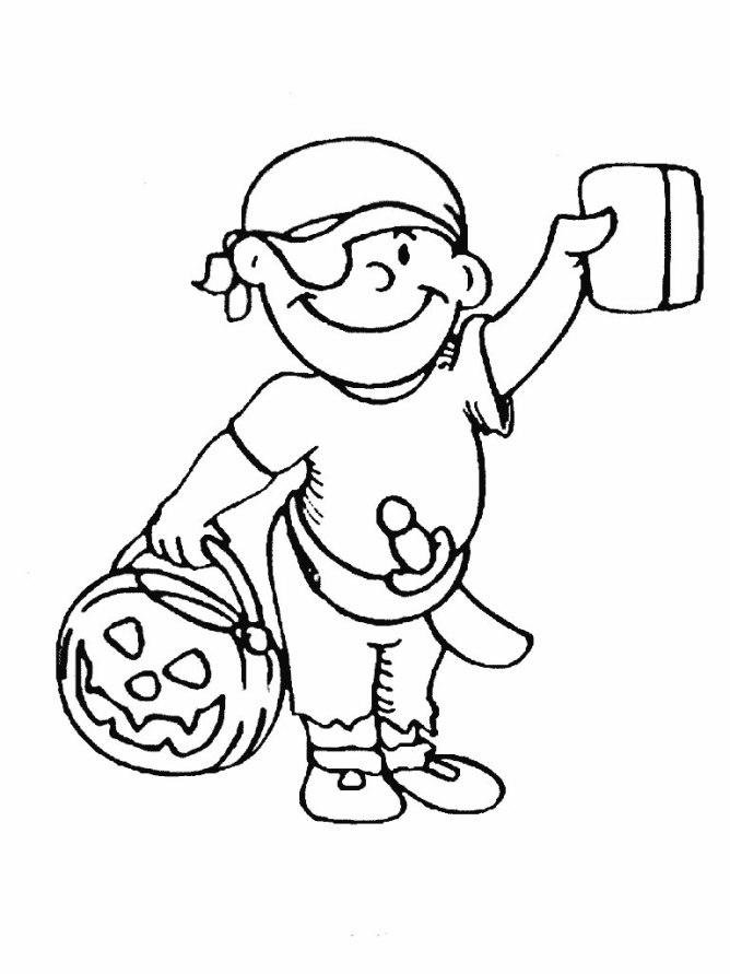 ausmalbilder für kinder pirat 2