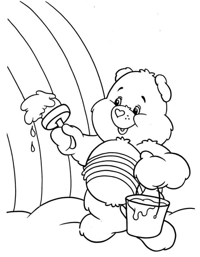 ausmalbilder für kinder regenbogen 9