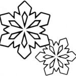 Schneeflocke 1