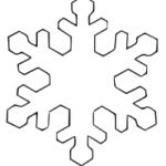 Schneeflocke 5
