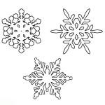 Schneeflocke 8