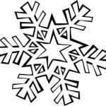 Schneeflocke 9