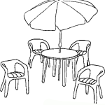 Stuhl 3