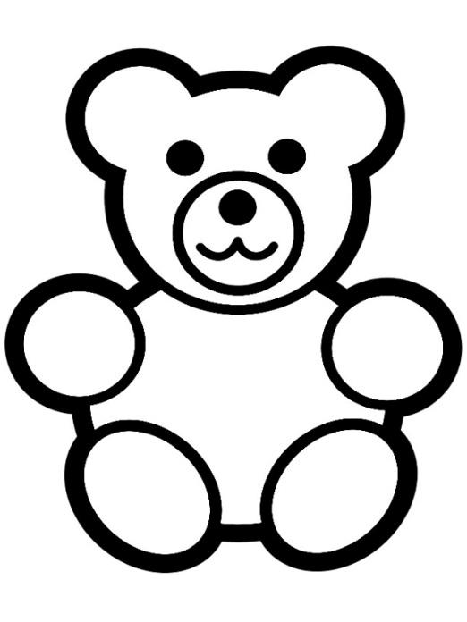 ausmalbilder f252r kinder teddybar 12