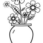 Vase mit Blumen 2