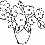 Vase mit Blumen 3