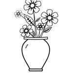 Vase mit Blumen 5