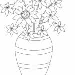 Vase mit Blumen 6