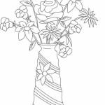 Vase mit Blumen 7