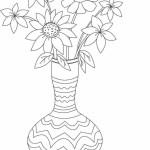 Vase mit Blumen 8