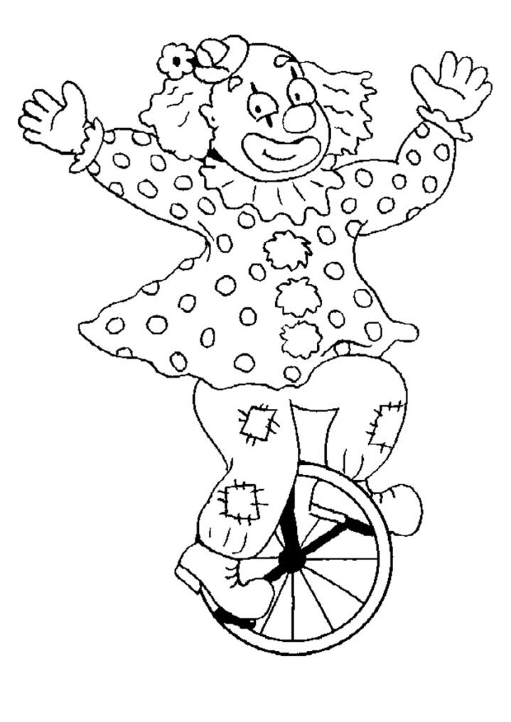 ausmalbilder für kinder zirkus 12