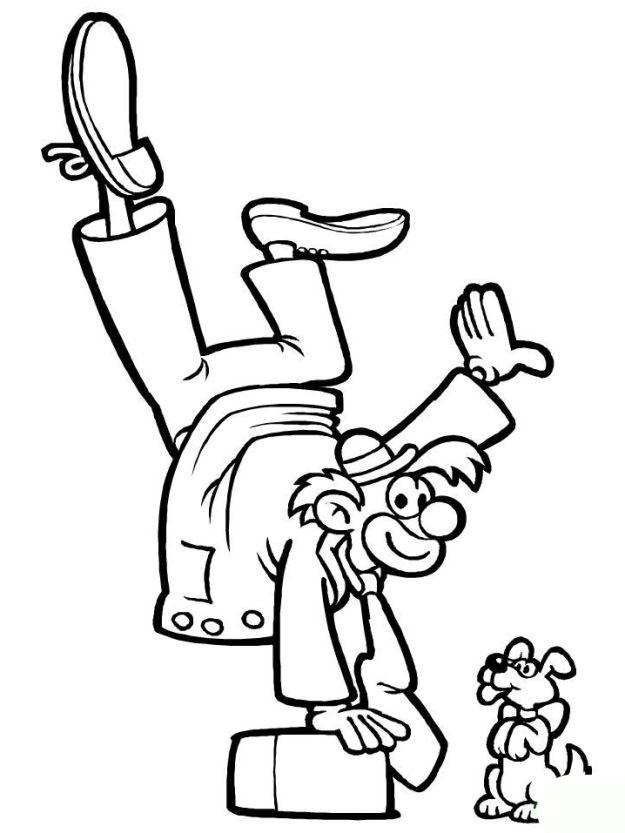 ausmalbilder für kinder zirkus 3