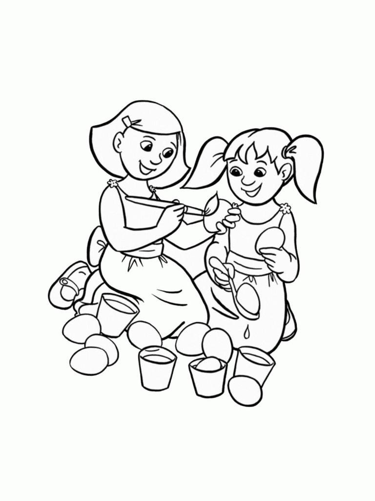 ausmalbilder für kinder ostern 39