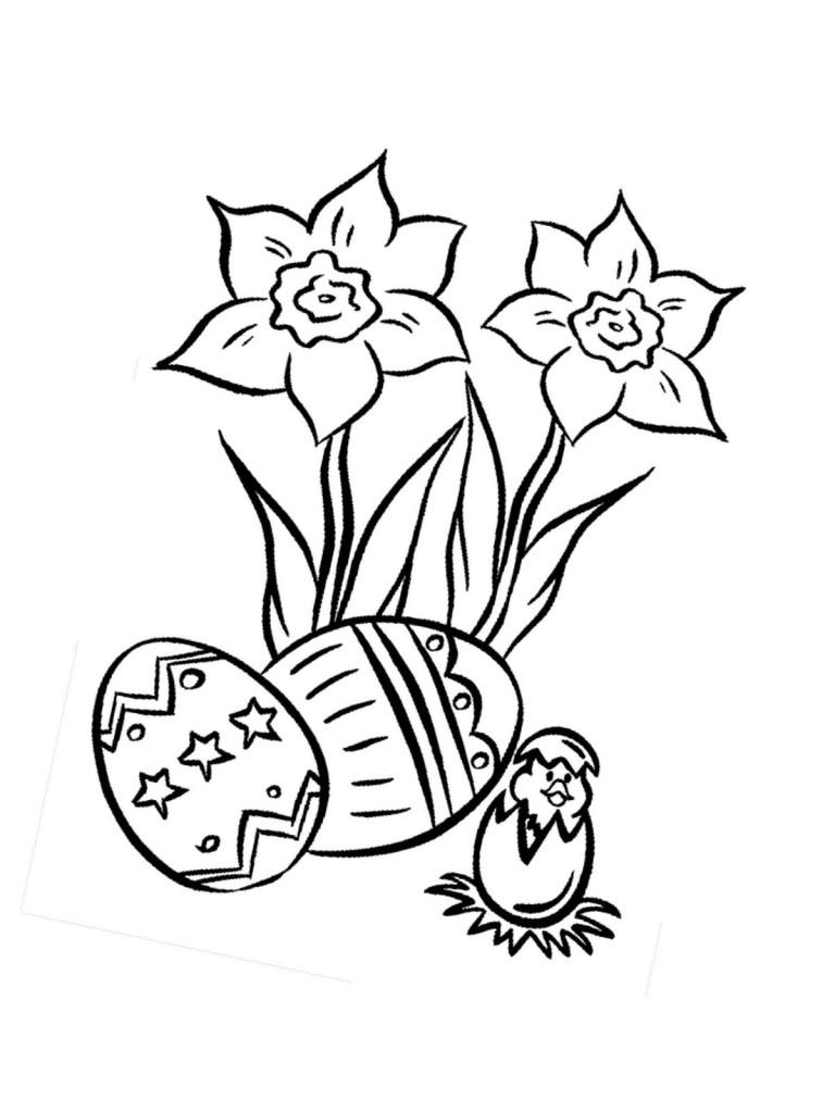 Ostern Küken und Eier 42
