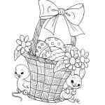Ostern Küken und Hase 43